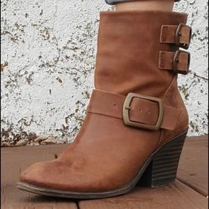 LUCKY BRAND Chestnut (Tommie) Ankle Boots